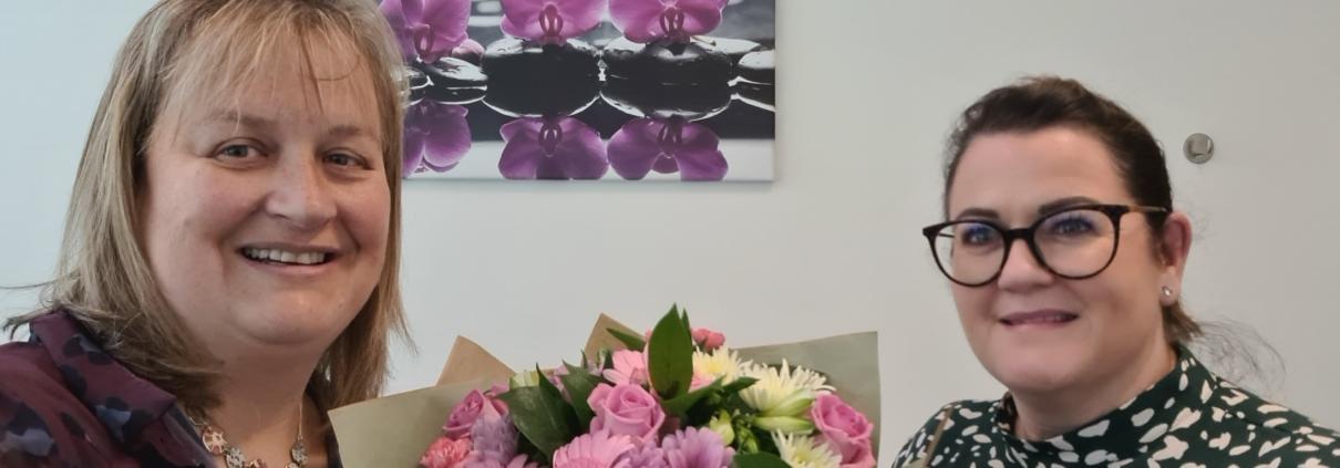 Flowers delivered